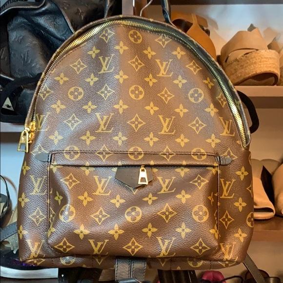 019bd12d9405 Palm Springs Backpack Louis Vuitton Dust Bag Box
